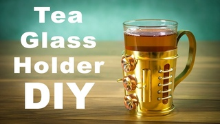 "Steampunk Tea Glass Holder ""Podstakannik"" How to Make DIY"