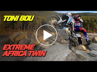 Toni Bou extreme enduro Honda Africa Twin & CRF 250