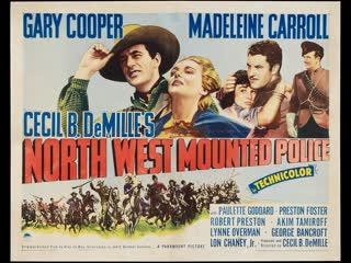 Legião de Heróis (North West Mounted Police) (1940) Legendado