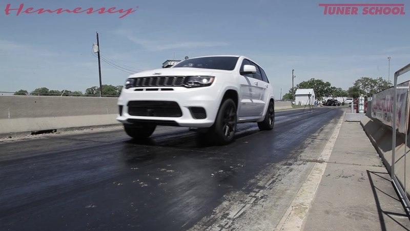 Hennessey Jeep Grand Cherokee SRT Trackhawk HPE1000 (Разгон до 100 км/ч за 2.7 сек)