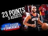 Chris Paul Full Highlights 2018 WCSF Game 2 Utah Jazz vs Houston Rockets - 23 Pts FreeDawkins