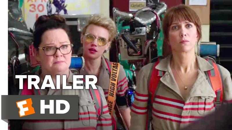 Ghostbusters Official Trailer 2 2016 Kristen Wiig Melissa McCarthy Movie HD