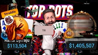 The Craziest PLO EVER!? HIGH STAKES POKER $1k/$2k Cash Game Top Pots Ep37 Cards-UP Highlights