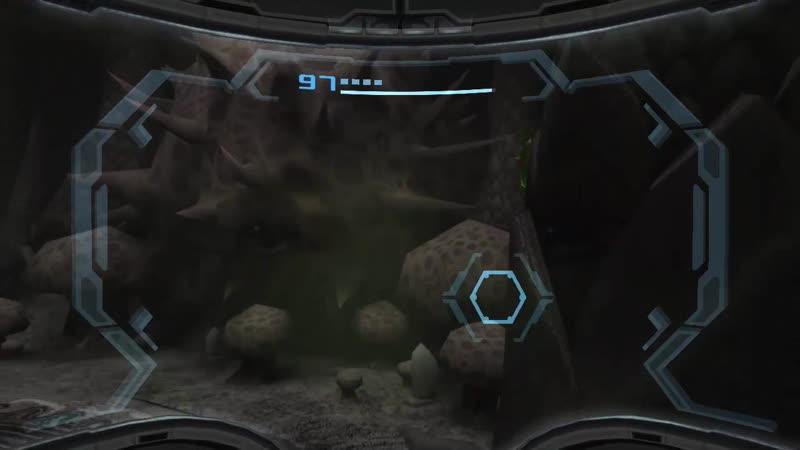 Metroid 7x25 Wii Metroid Prime 3.20 Explorando el Centro de Bryyo - Colocandole mejoras a la Nave