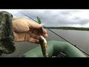 Рыбалка на спининг с лодки,на колебалку,на вертушку,на воблеры,погода жесть,дождь ветер,лето август