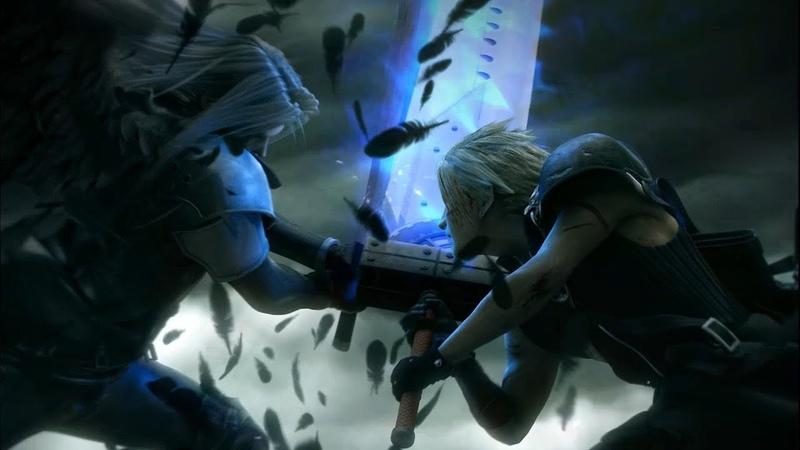 Final Fantasy TCG Cloud vs Sephiroth Starter Set unpacking