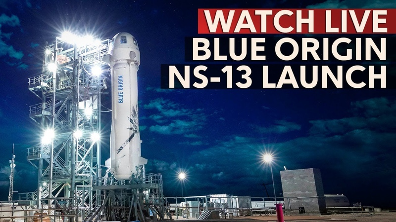 WATCH Blue Origin New Shepard Launch with NASA Moon landing system