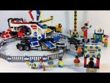 Fairground Mixer LEGO Creator 10244 review with Power Functions!