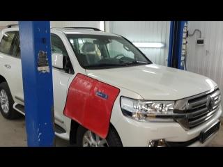 Противоугонная защита Toyot LC 200, установка Webasto TT EVO