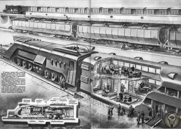 Атомный поезд: советская разработка, которая осталась на страницах газет Во времена холодной войны едва ли не главным потенциалом развития технологий считалась ядерная энергия. Поэтому нет