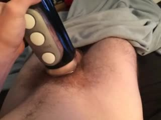 Penetrating my Tenga Fliphole Black, Audible Lube and Moanin
