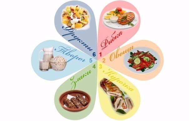 Вкусная Диета 6 Лепестков. Диета 6 лепестков — меню, отзывы и рецепты