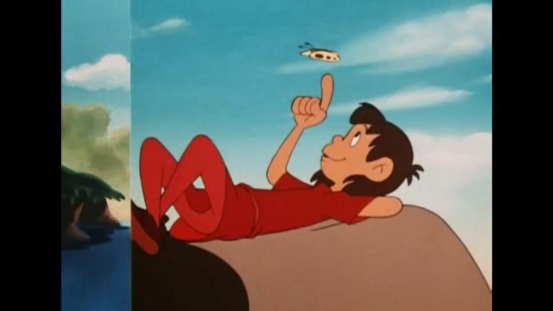 Джек в стране чудес Япония 1974 полнометражный мультфильм советский дубляж