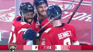 Sam Bennett scored 1st goal for the Florida Panthers and 5th goal in the 2020-2021 NHL season