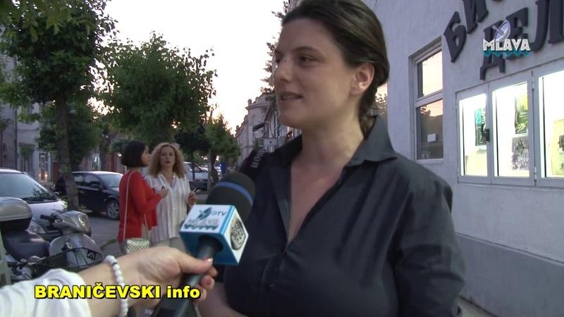 Galerija Krug, otvaranje izlozbe Iz baste (RTV MLAVA 06.06.2019.)