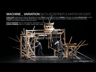 Martin Messier & Nicolas Bernier - MACHINE _ VARIATION