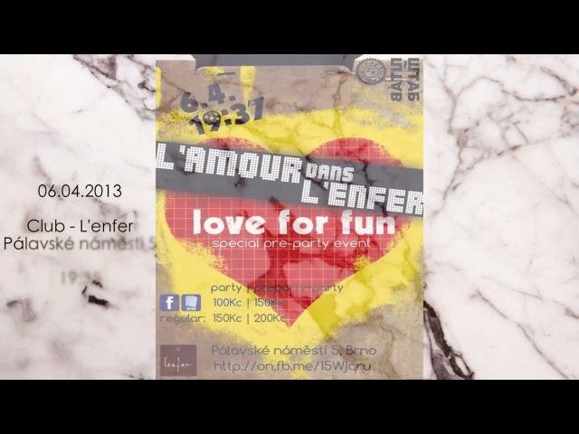 Любовь с первого взгляда ~ L'amour dans L'enfer ШТАБ ~ ŠTÁB ver