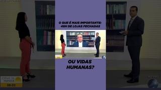GOVERNADOR DA BAHIA RUI COSTA CHORA AO VIVO EM ENTREVISTA NA TV PELAS MORTES DE COVID