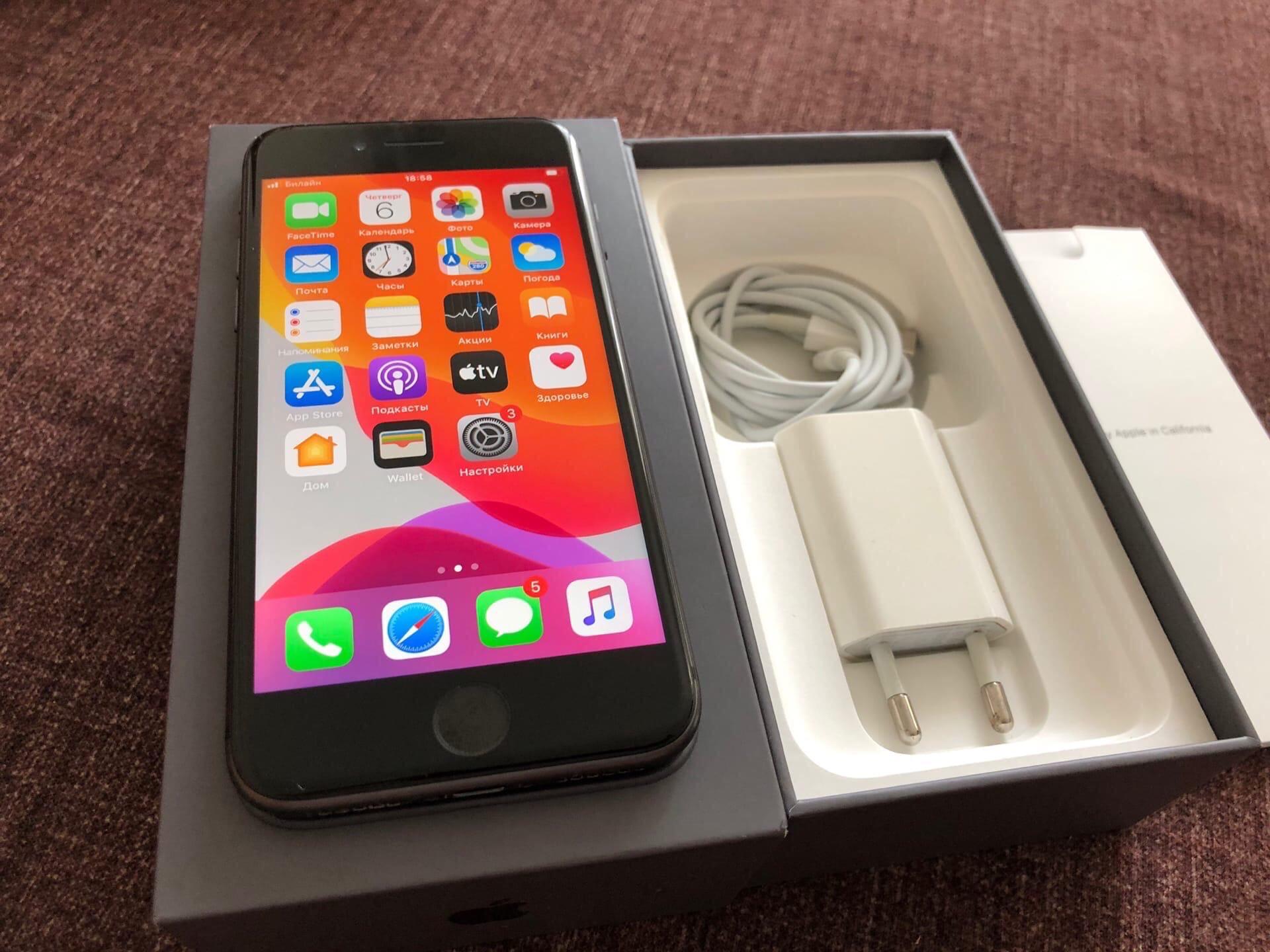 Продаю iPhone 8 на 64Gb!