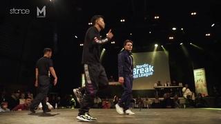 Specifik Kidz vs Justen & Shane (top 8) // .stance x Nordic Break League 2020