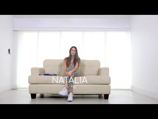 Natalia Nix - Fit18 ## POV Tall Skinny Brunette Teen Comes In For Fitness Casting latina yoga pants uniform facial