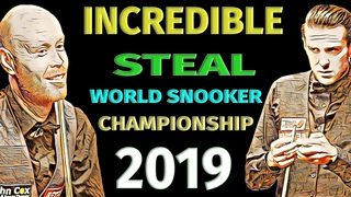 Incredible Steal || Gary Wilson vs Mark Selby || Round 2 - 2019 World Championship (WSC) - [Snooker]