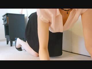 Maxisma aka elzbieta edging (1080p) [amateur, petite teen, solo, masturbation, panty, dildo]