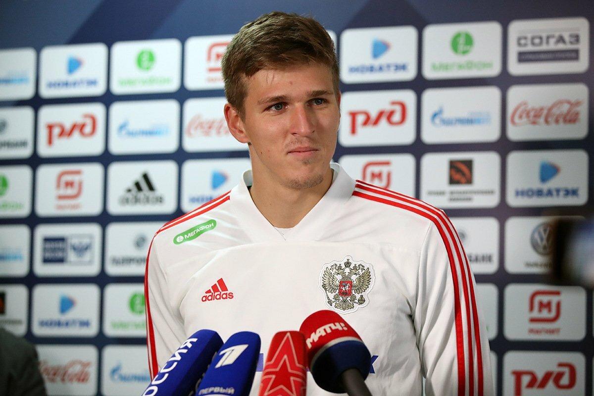 Александр Соболев в сборной России