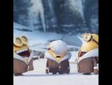 #Миньоны поздравляют вас с первым днем зимы! ❄️❄️❄️