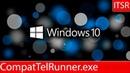 Как убрать CompatTelRunner.exe (Microsoft Compatibility Telemetry) ®