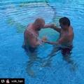 Sergey Kharitonov в Instagram: «Волк Хану 57 лет ,но форма как у 17-летнего !!! Машина!!! @volk_han @m1global @bellatormma @ufc @acb_mma @acb_kb…»