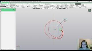 Создание молекулы в КОМПАС 3D