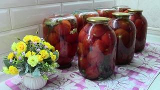 Сладкие помидоры на зиму / Очень вкусный рецепт томатов