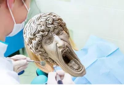 Кричащая статуя