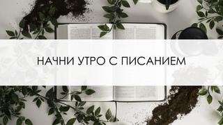 Начни утро с Писанием | 23 Апреля