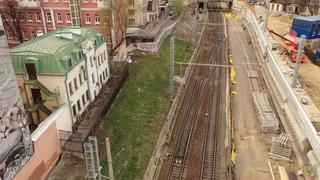 Грандиозная стройка в центре города мешает жителям или строительство МЦД от Курского до Каланчёвской