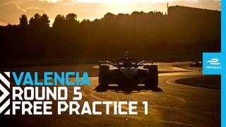 2021 Valencia E-Prix - Race 5 | Free Practice 1