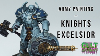 How to Paint Knights Excelsior Stormcast for Age of Sigmar Dominion!