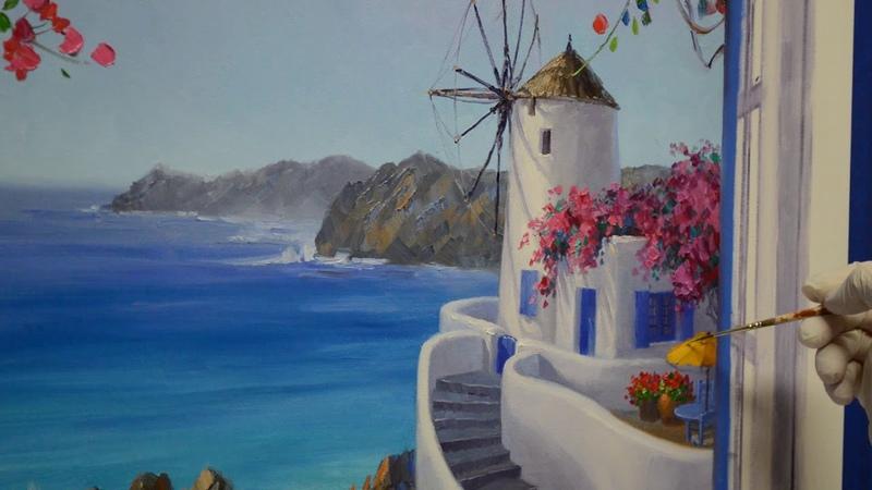 SENKARIK Santorini Song Part 5 - Yellow Umbrella