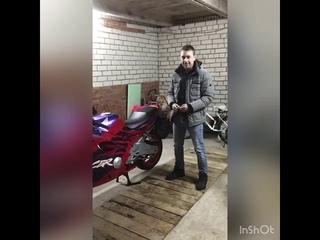 Счастливчик акции Honda CBR 600 F2 за 1000 рублей