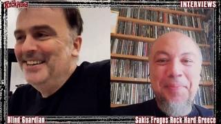 """Rock Hard Greece - Interview with Hansi Kursch (BLIND GUARDIAN) about """"Somewhere far beyond"""""""