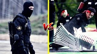RUSSIAN SPETSNAZ (VS) SOUTH KOREA ROK/UDT/SEAL   HAND TO HAND COMBAT MARTIAL ARTS