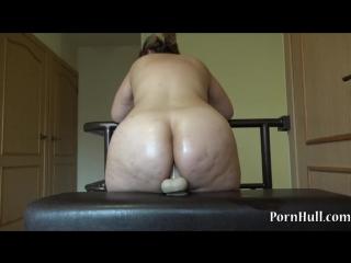 34 bbw fuck dildo, her large ass hd bbw anal porno
