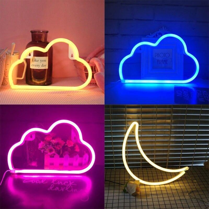 Неоновые светильники -