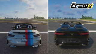 """""""The Crew 2"""" BMW Z4 M40i VS BENTLEY MULLiNER BACALAR (Sound and Performance Comparison) ......"""