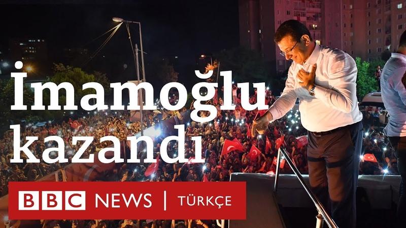 23 Haziran İmamoğlu'nun zaferi ve kutlamalar