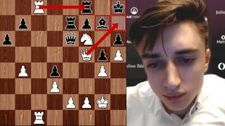 Даниил ДУБОВ позиционно ЗАДУШИЛ и Завершил Как ТАЛЬ! 1 День Magnus Carlsen Invitational