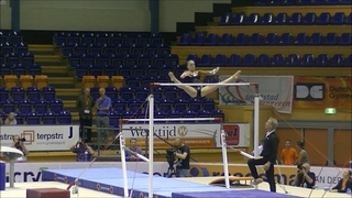 Sanne Wevers (NED) Uneven Bars - Int. Gymnastics Comp. Heerenveen, The Netherlands WAG AA