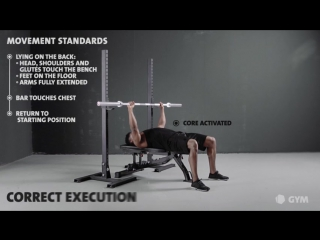 Bench press - freeletics gym