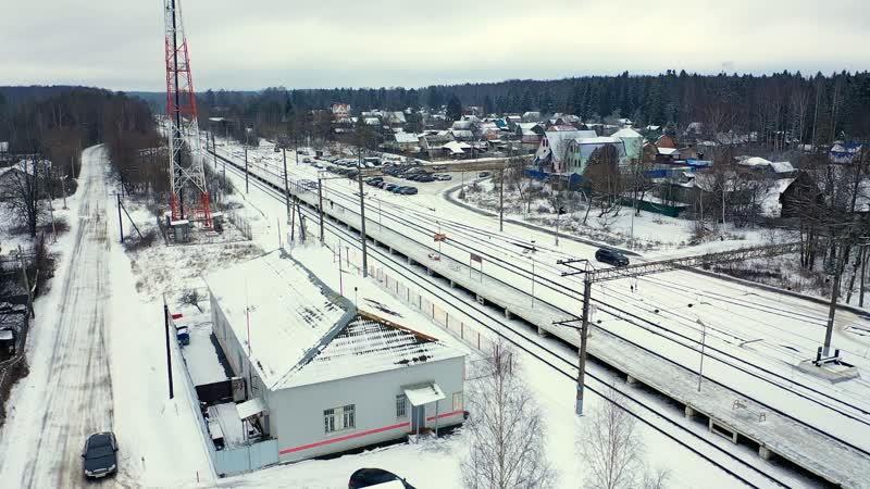 На железнодорожной станции в Вербилках не работает зал ожидания